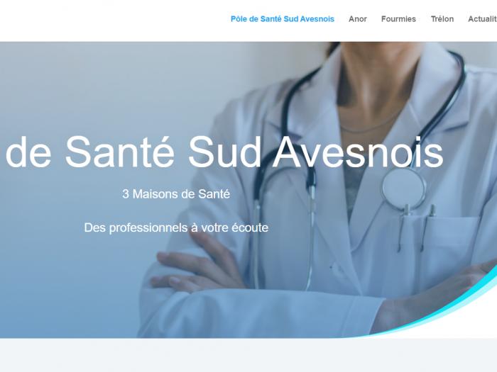 pole santé sud avesnois site internet
